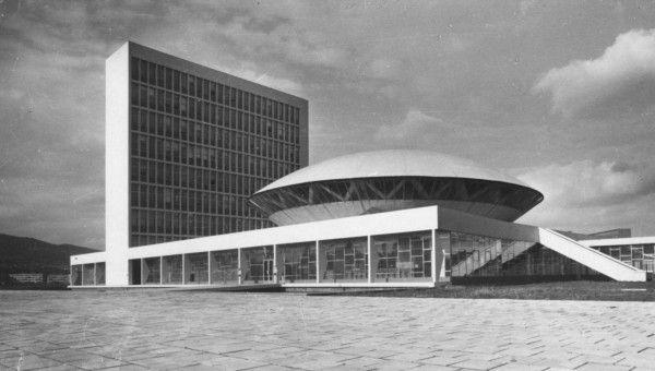 Vladimír Dedeček College of Agriculture in Nitra 1956