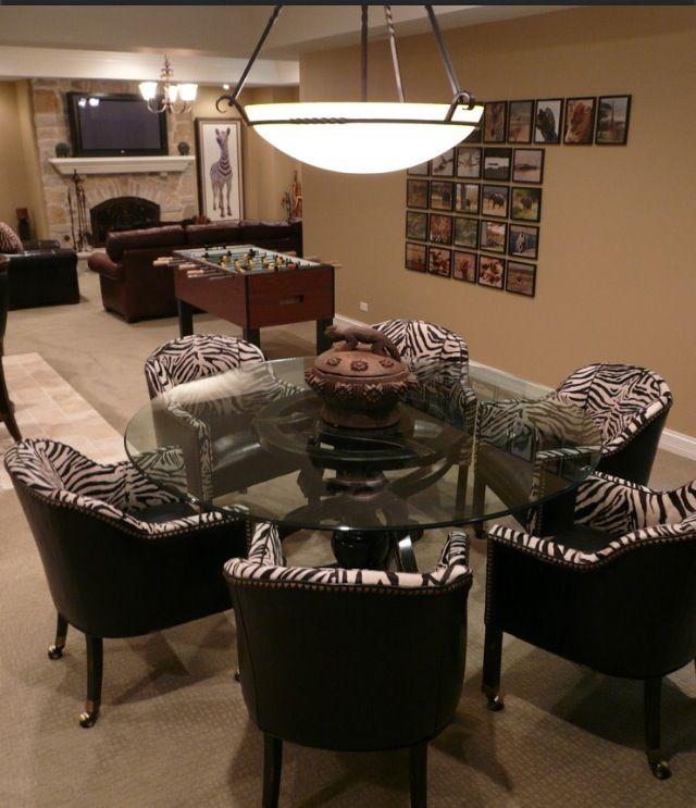 Luxury Basement Designs: Chairs With Wheels Luxury Basement Design