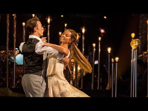 Louise Redknapp & Kevin Clifton Viennese Waltz to 'Hallelujah' - Strictly Come Dancing 2016: Week 2 - YouTube