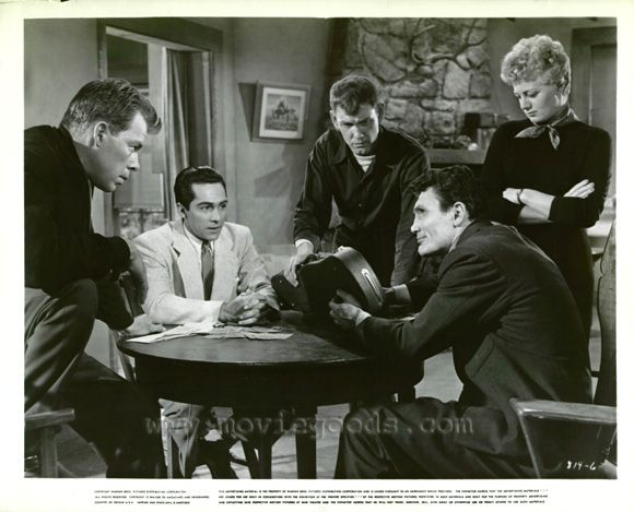 Lee Marvin Perry Lopez Jack Palance Earl Holliman Shelley Winters - I Died a Thousand Times