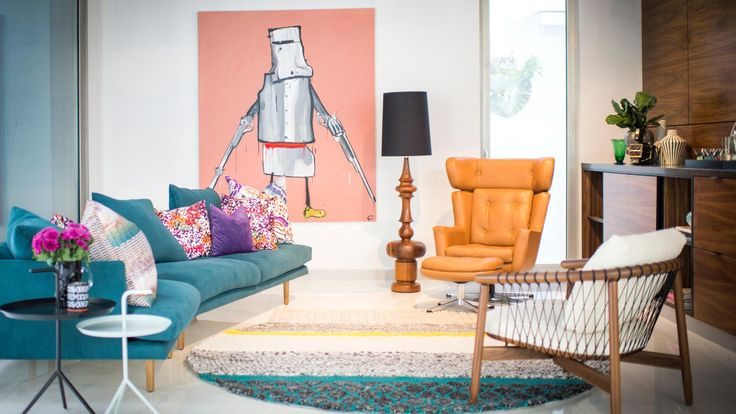 How to add Palm Springs style to your home. Photography by Jessica Lindsay. Designed by Tony Legge at Woods and Warner (woodsandwarner.com.au).