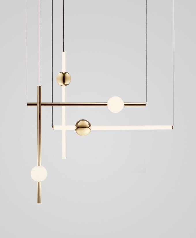 Lee Broom Orion Tube Suspension Light
