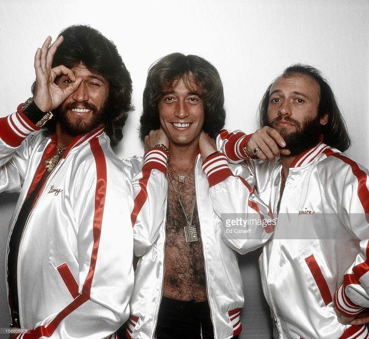 Bee Gees Musikgruppe Pop Australien Gb Die Musiker Robin Gibb Bee Gees Singer Barry Gibb