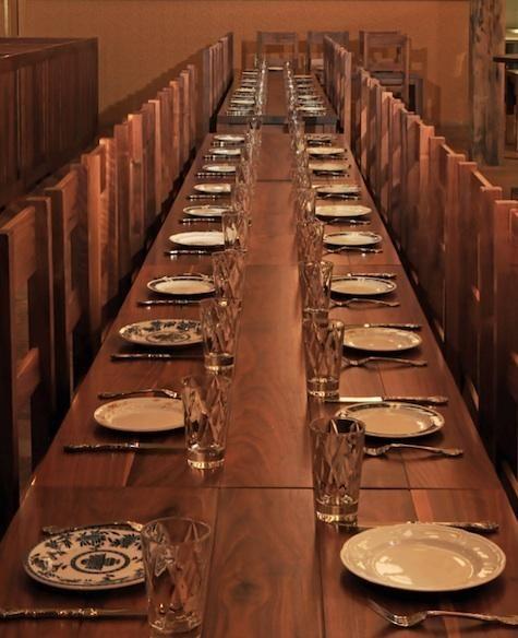 restaurant visit the publican in chicago google images communal table and cafe bar. Black Bedroom Furniture Sets. Home Design Ideas