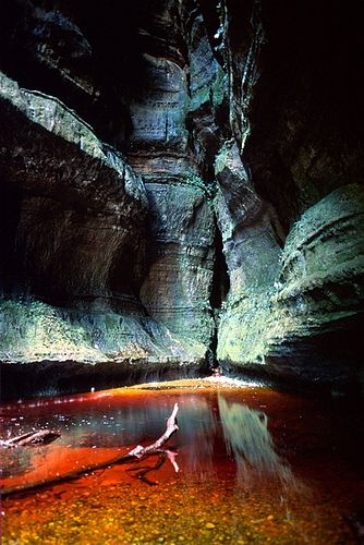 Cueva Mistica en el Vaupes, Colombia.