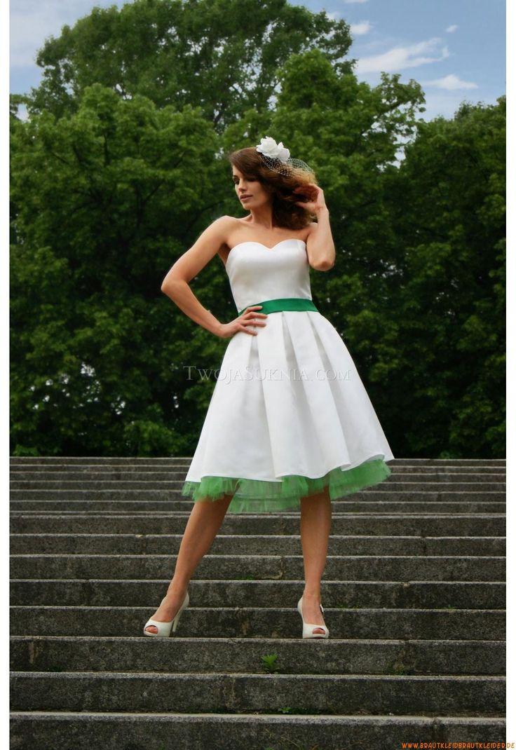 15 best Hochzeitskleider images on Pinterest   Short wedding gowns ...