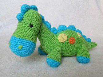 Dinosaurier Dino Häkelanleitung                                                                                                                                                                                 Mehr
