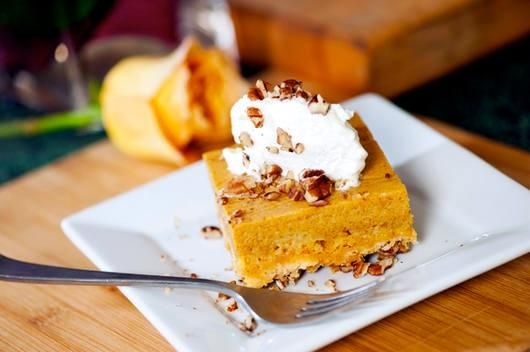 Pumpkin Crunch Recipe! I look forward to this every Halloween, thanksgiving, and Christmas!