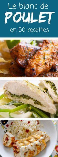 Blancs et escalopes de poulet et de dinde