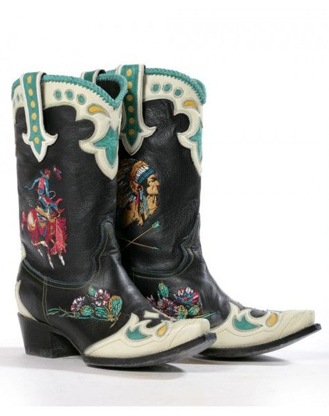 Retro Rodeo- Double D- Lane Cowgirl Boots