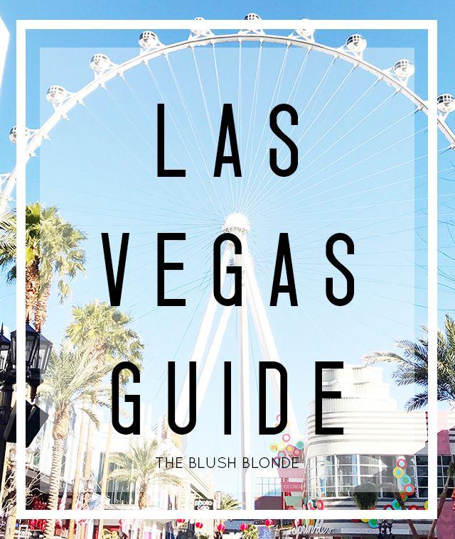 The Blush Blonde: My Las Vegas Guide   Tutu Tuesday Linkup