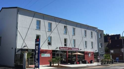 Brit Hotel Brive La Gaillarde Malemort-sur-Corr�ze Featuring free WiFi and a restaurant, BRIT Hotel Brive La Gaillarde offers pet-friendly accommodation in Malemort-sur-Corr?ze. Guests can enjoy the on-site bar. Free private parking is available on site.