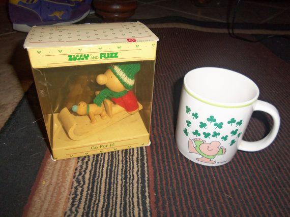 Vintage Ziggy items 1980s Christmas ornament by AltmodischVintage, $22.00