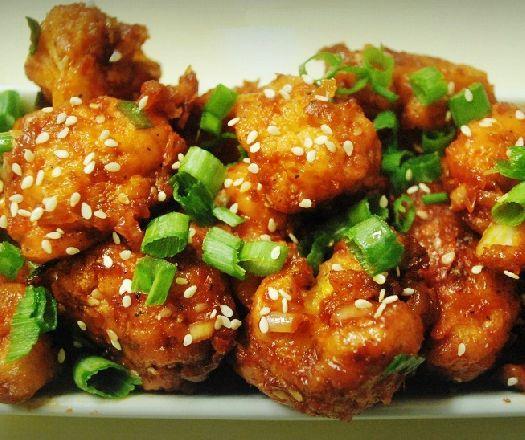 Kínai szezámmagos rántott karfiol - vegán recept! Recept képpel - Mindmegette.hu - Receptek