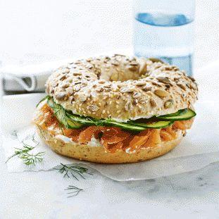 Gladpakke panelet i MENY anbefaler bagels fra Miss Bagel på madpakken! God ide til børnenes madpakke.