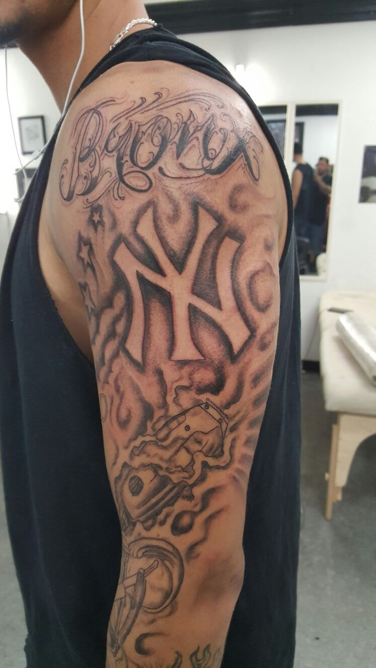 new york bronx barber tattoo sleeve some of my work