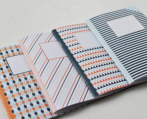 selbstgemachte Notizbücher (mit pdf-Vorlage und Anleitung)