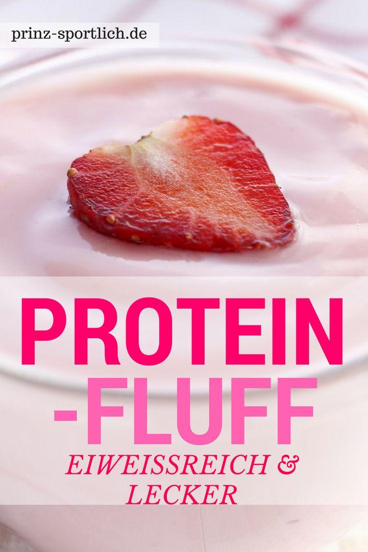 Protein Fluff: Leckere Eiweiß-Mousse mit Suchtfaktor