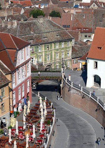Sibiu, European Capital of Culture in 2007, Transylavania, Romania.