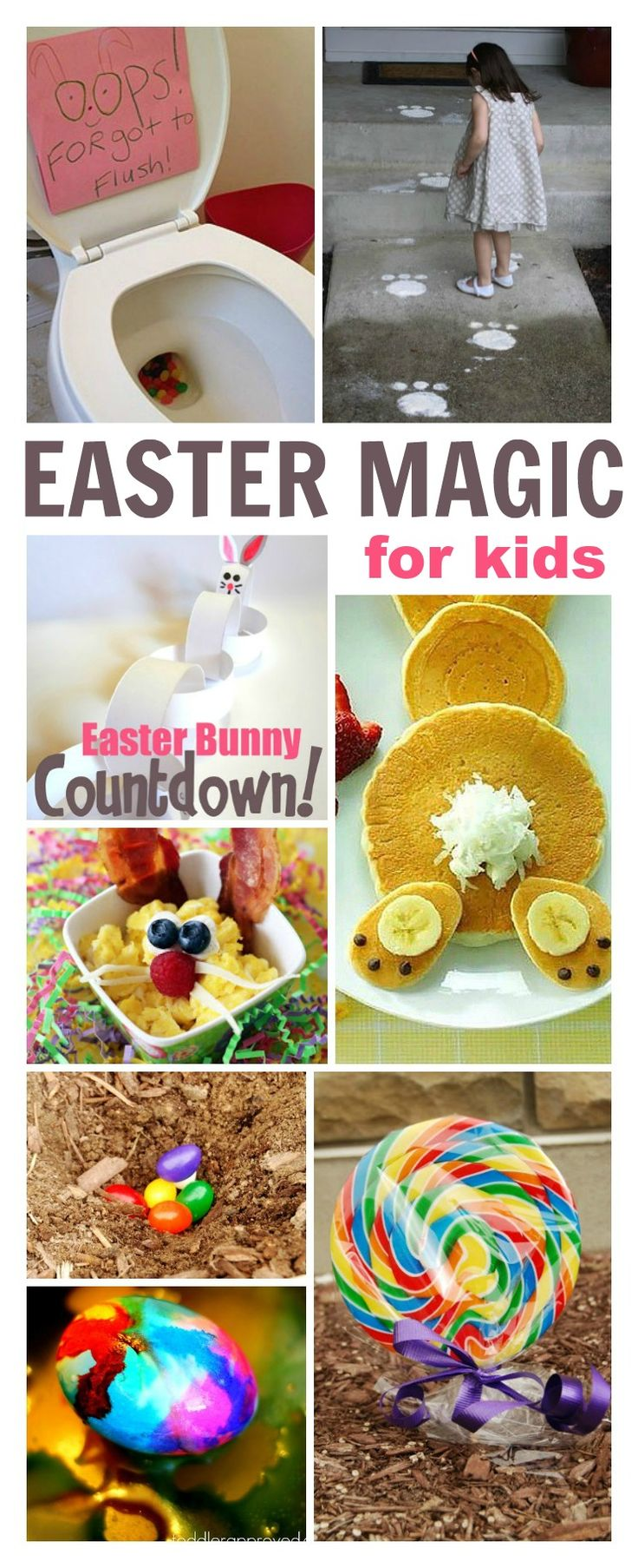 Make Easter magical for kids with these simple & FUN ideas- these are too cute! Can I be a kid again please?