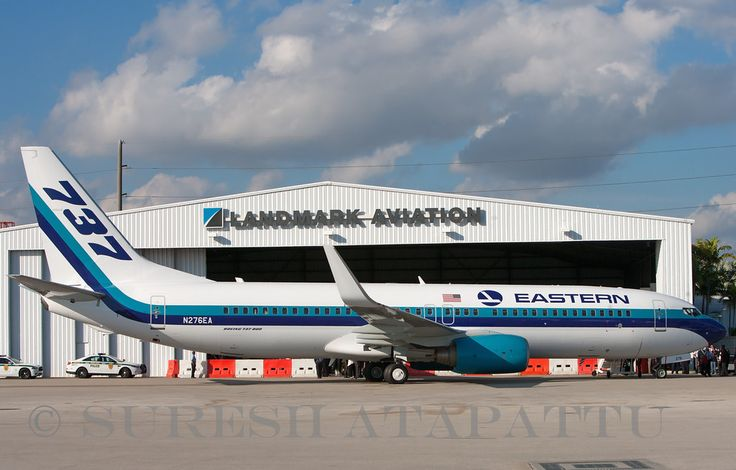 """Eastern Air Lines welcomed the first aircraft in Eastern's fleet, a Boeing 737-800 flown into Miami International Airport for the first time. Eastern has ordered twenty Boeing 737-800 aircraft. It will be the backbone of Eastern's fleet of new fuel efficient WhisperLiners to take to the skies starting in the second quarter of 2015. The inaugural arrival received a water cannon salute, the aircraft was dedicated as """"The Spirit of Captain Eddie Rickenbacker"""", Eastern's most famous CEO from…"""