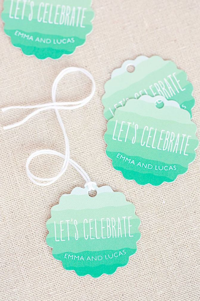 Ombre favor tags