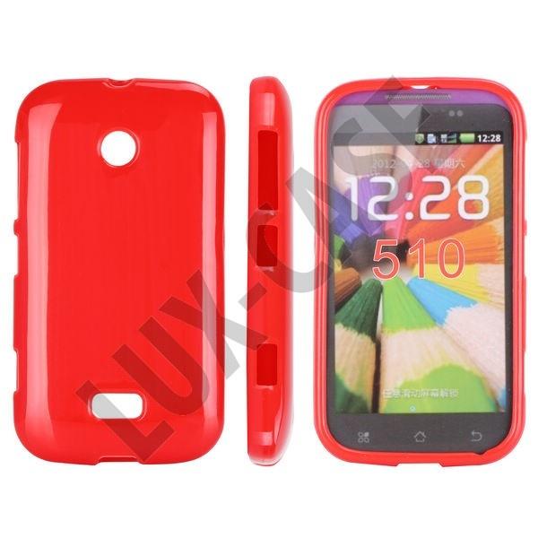 Punainen Nokia Lumia 510 Suojakotelo