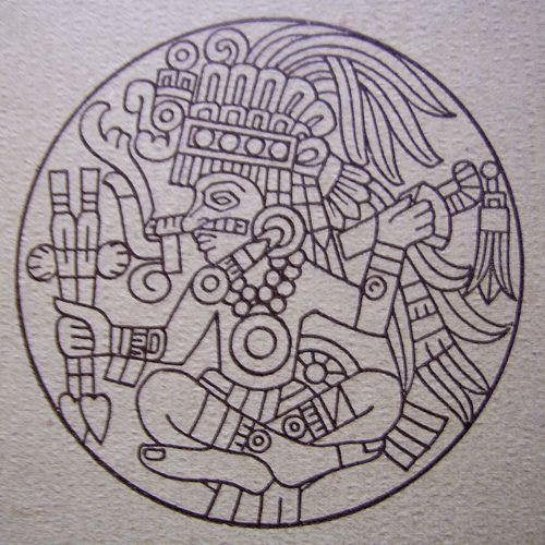 1000 ideas about mexico tattoo on pinterest chicano for Aztec mural tattoos