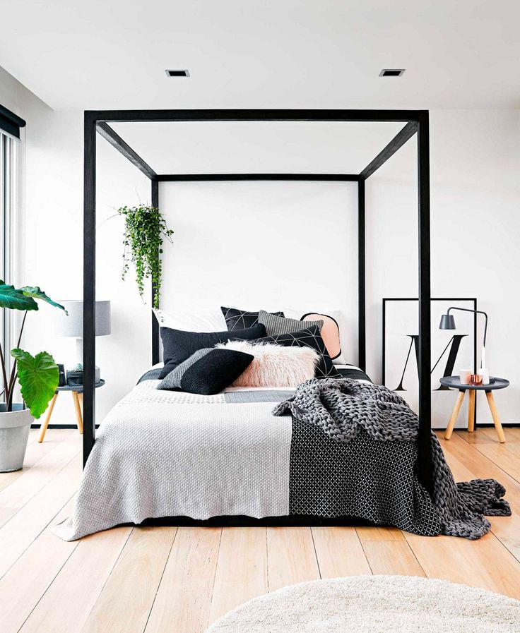 "homedesigning: ""(via 32 Fabulous 4 Poster Beds That Make An Awesome Bedroom) """