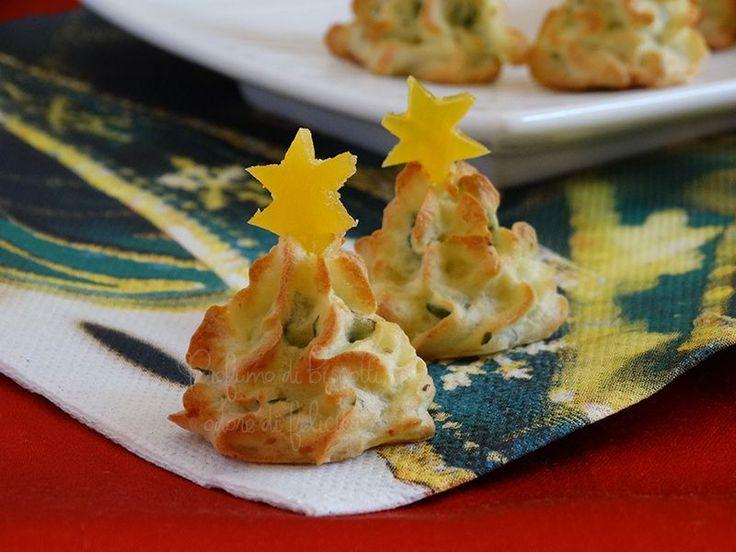 alberelli natalizi di patate