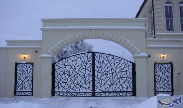 بوابات فلل خارجية بتصاميم مميزة وعصرية العرب اليوم House Gate Design House Main Gates Design Door Gate Design