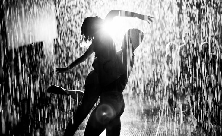 light + rain room installation illuminates Wayne McGregor's new ballet at the Royal Opera House in London. http://random-international.com/work/