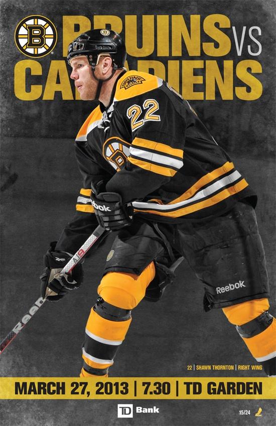 B's vs Canadiens Mar. 27, 2013 15/24 Boston bruins