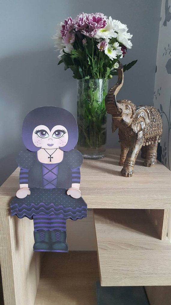 Check out this item in my Etsy shop https://www.etsy.com/uk/listing/490236871/goth-girl-card-gothic-purple-and-black