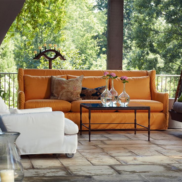 Outdoor Furniture From LEE Industries   Lotus Sofa And Cabo Chair