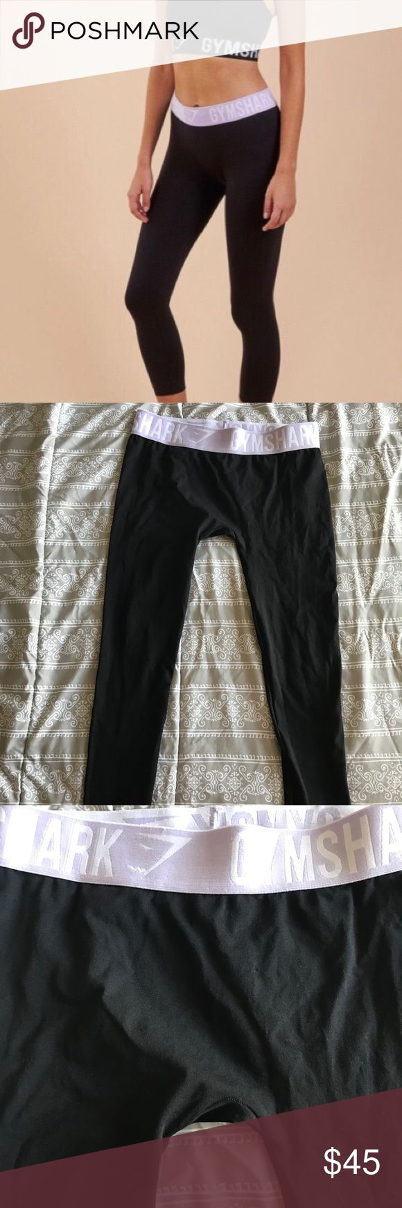 GYMSHARK Fit Cropped Leggings Black/Pastel Lilac GYMSHARK Fit Cropped Leggings Black/Pastel Lilac. Excellent used condition. Currently sold out online. FAST SHIPPER🌟 BUNDLE & SAVE💰 AMBASSADOR😎 NO TRADES🙅🏻♀️ NO PRICE DISCUSSIONS IN COMMENTS PLEASE USE OFFER BUTTON🤝 YOUR ORDER IS SUPPORTING A FAMILY AND A DREAM. THANK YOU 🙏🏼 Gymshark Pants