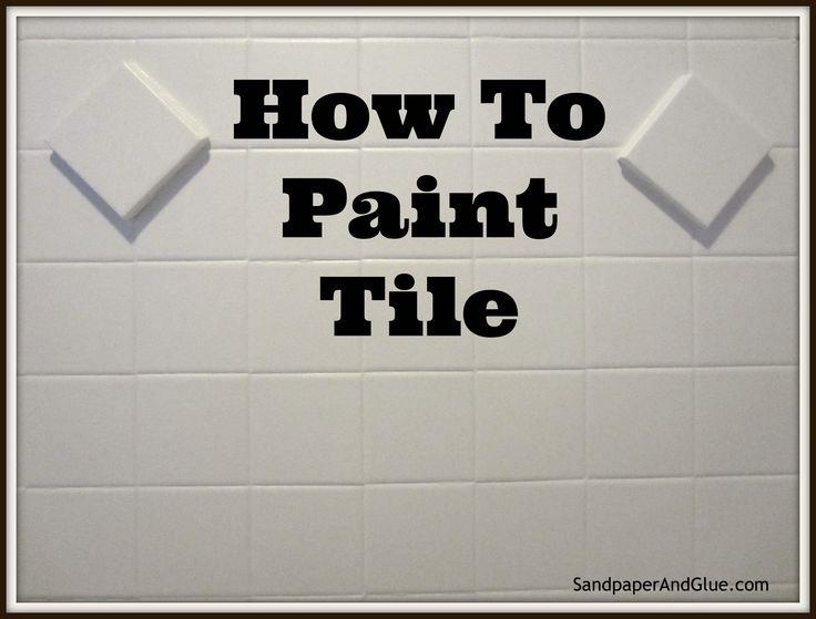 Bathroom Tiles S best 25+ paint bathroom tiles ideas on pinterest | painting