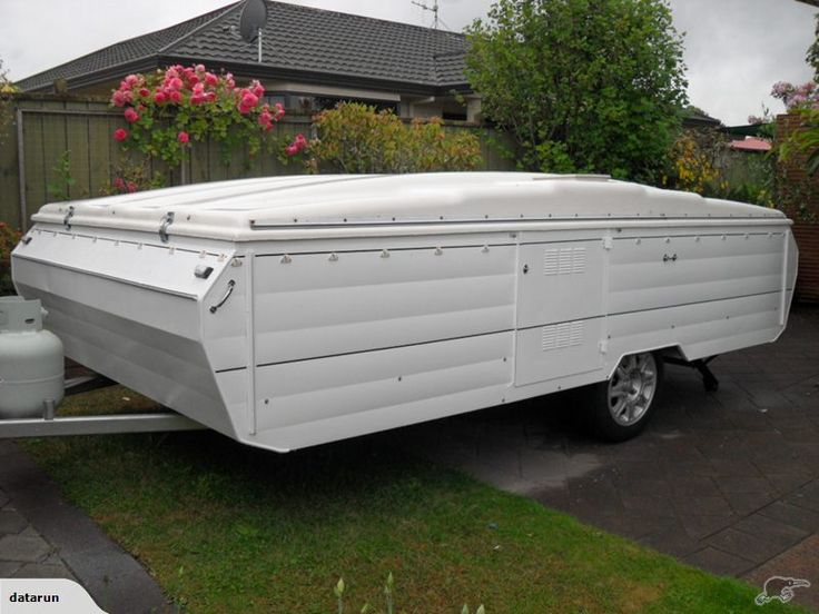 """1980 - SUNBIRD 12FT POPTOP (Factory Long version)    Trade Me, $5800 asking price, Jan 2015  This Very tidy caravan is longer (600mm) than the standard unit with """"double beds at both ends"""".   With extensive renovations carried out in the last two years it's ready for the new owner to enjoy   Exterior: Repainted, Gas bottle cover, new LED tail lights and front marker lights. Alloy wheels on dura-torque suspension, ground clearance raised 40mm for better towing, spare wheel incl."""