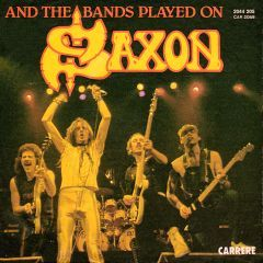 """And the Bands Played On"" by Saxon https://www.youtube.com/watch?v=LeM7J5xT4p0"