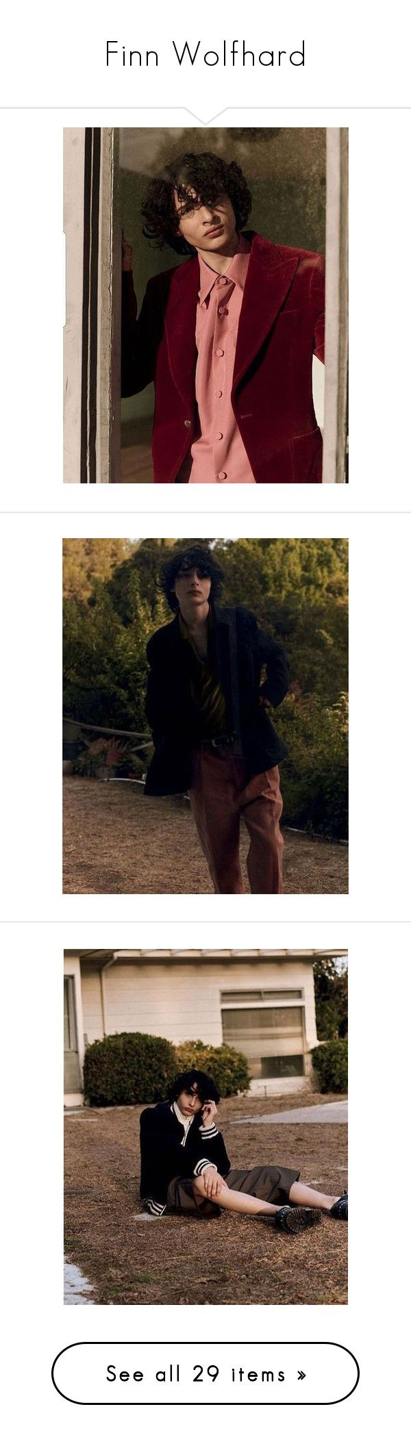 """Finn Wolfhard"" by strangthings ❤ liked on Polyvore featuring -photos"