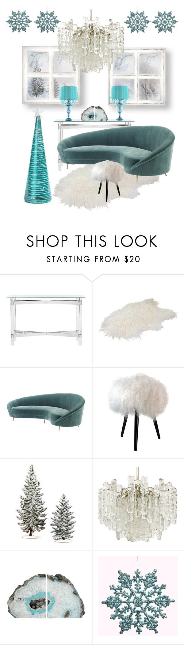 """""""❄️Frozen Living Room❄️"""" by sab26bas ❤ liked on Polyvore featuring interior, interiors, interior design, home, home decor, interior decorating, Safavieh, Eichholtz, Kalmar and Poetic Wanderlust"""
