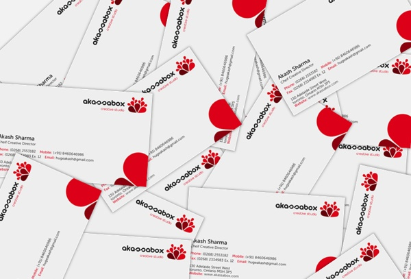 Akassabox Inc. Branding by Akash Sharma, via Behance