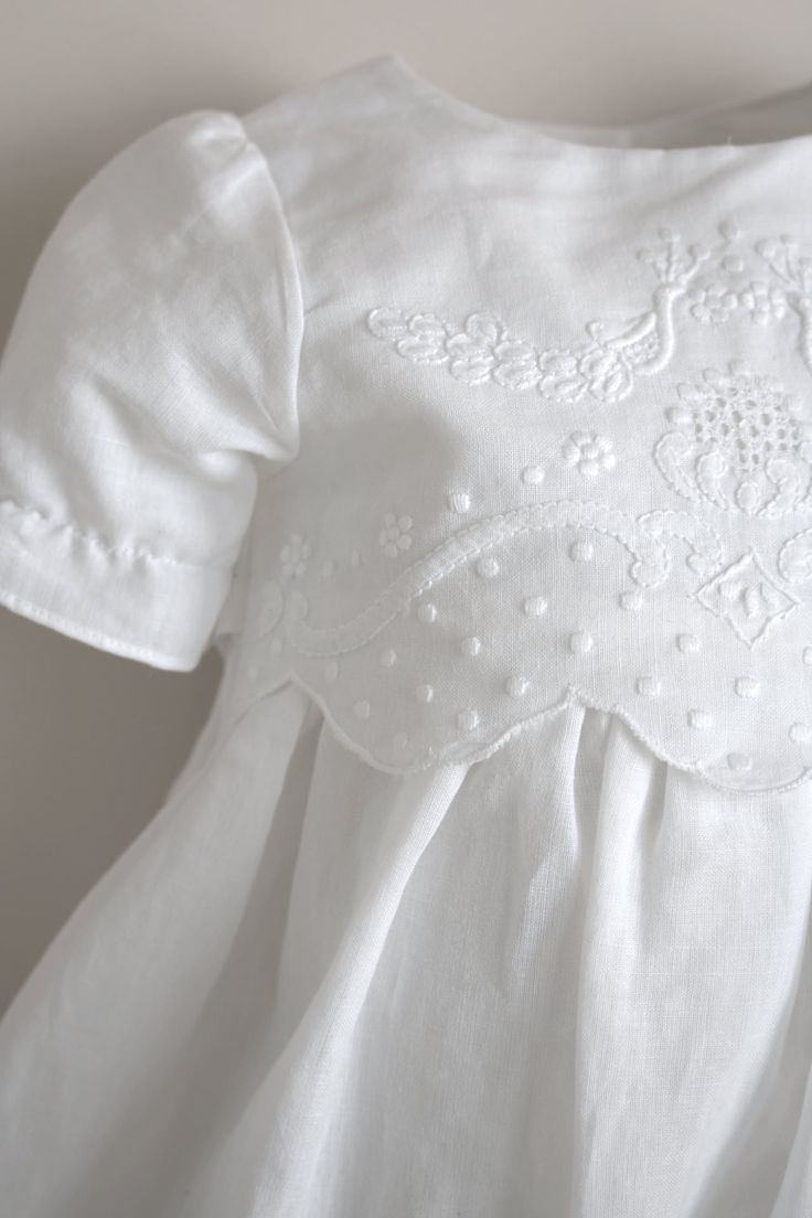 Bergen Christening Gown from Oli Prik for €121 only at christeningwearcopenhagen.com Christening Gowns