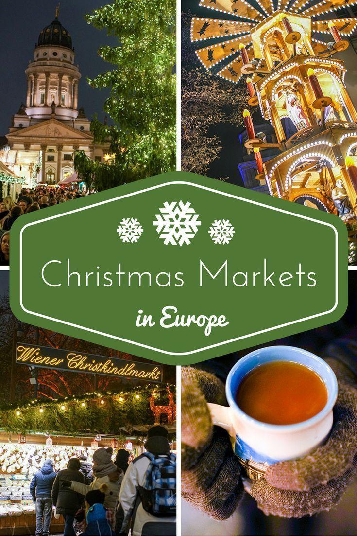 Tour through European Christmas Markets in Budapest, Bratislava, Vienna, and Berlin!