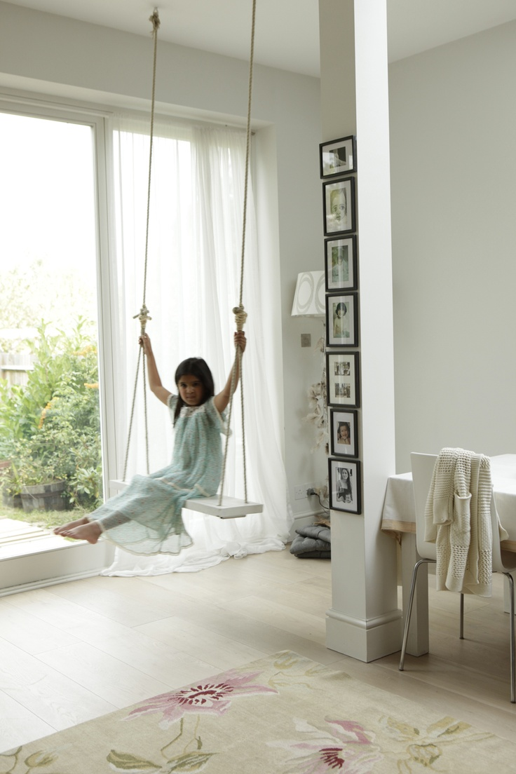 Indoor swings for home - Find This Pin And More On Home Playful Indoor Swing
