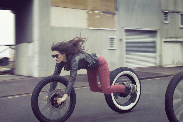 Motorbike girl _ via RVG Tumblr