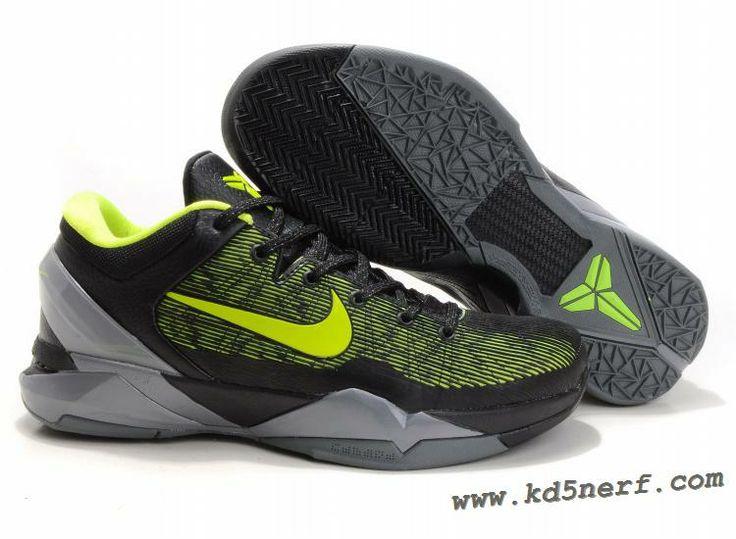 Nike Zoom Kobe 7 Shoes Volt Green Grey 2013
