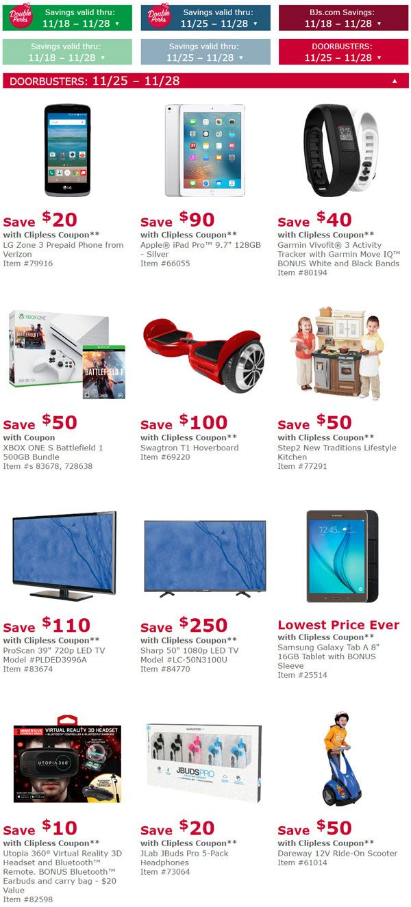 BJ's Black Friday Deals #as