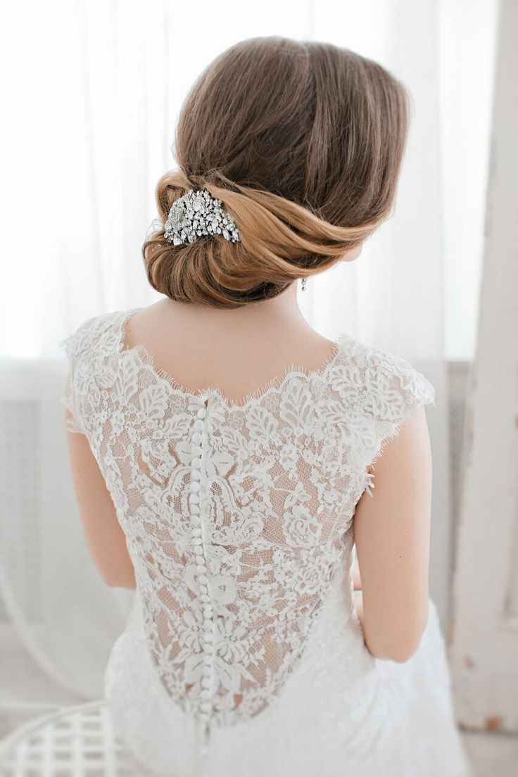 69 best Wedding hair images on Pinterest | Bridal hairstyles ...