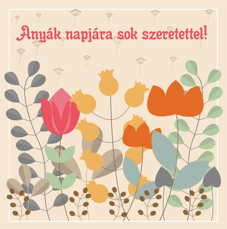 Mother's day e-card.